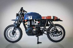 Stephan Johnsson Custom lego motorcycles