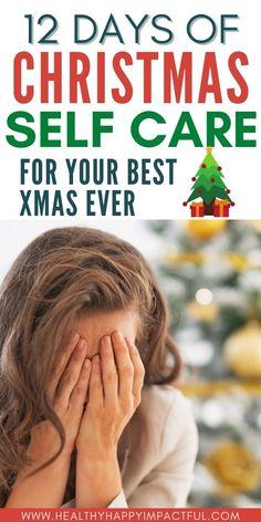 Improve Mental Health, Good Mental Health, Christmas Games, 12 Days Of Christmas, Wellness Tips, Health And Wellness, Self Confidence Tips, Challenge Group, Anxiety Tips