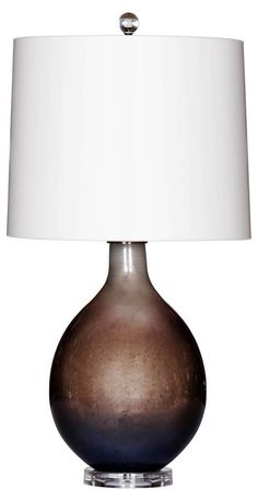 Clair De Lune Table Lamp, Cognac