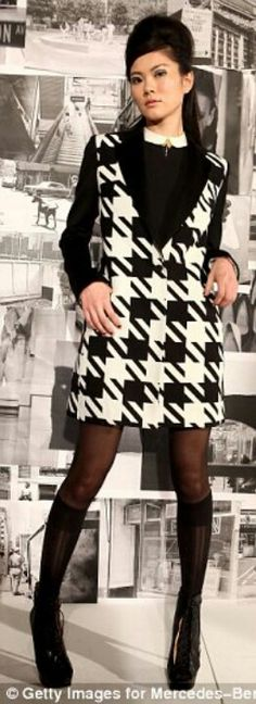 Oversize dogtooth ♡♡♡♡