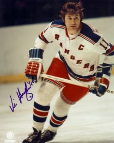 Vic Hadfield Signed Autographed Photo 8x10 New York Rangers Hockey Games 88ab53fe3a04