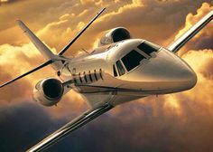 The Citation Excel jet for charter carries 7-8 passengers with a max cruising speed of 430 mph & a max range of 1,850 statute miles. MFR: Cessna Aircraft