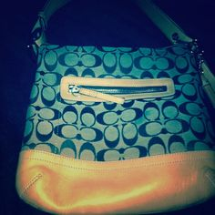 Coach purse Hobo mini coach bag gently used Coach Bags