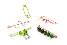 Simple fibula brooch pins - Making Jewellery Magazine - Crafts Institute