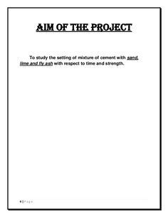 investigatory project examples for high school