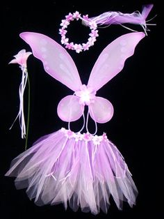 Includes Wings, Wand, Halo and Tutu Fairy Princess Costume, Princess Party, Girl Costumes, Costume Ideas, Costumes Kids, Peter Pan Costumes, Butterfly Costume, Book Week Costume, Fairy Wands