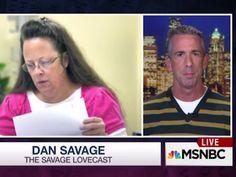 WATCH: Dan Savage Tackles Kentucky Clerk's Marriage Hypocrisy   Advocate.com