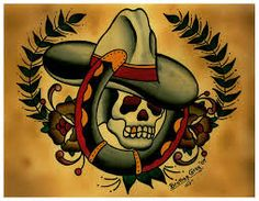 Image result for cowboy tattoo