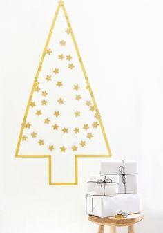 Árbol de Navidad / Christmas tree (washi tape)