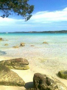 Lovely beach around Porto Cervo