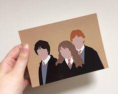 Postcard Harry Potter