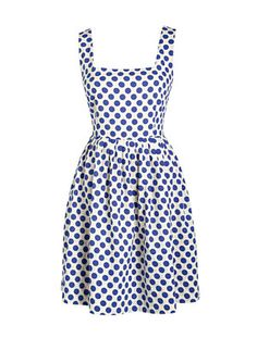 Delia's Polka Dot Dress. So cute, and perfect for girls who have to wear a bra with dresses!