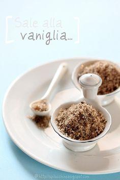 Sale alla vaniglia.  vanilla salt