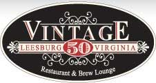 Vintage 50: Restaurant & Brew Lounge in Leesburg, VA. We got the COOLEST growler from this place.