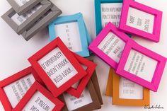 DIY Blog von Anastasia: Basteln mit Papier: Bilderrahmen ganz ohne Kleben ...