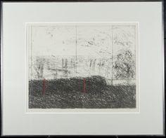 Reino Hietanen, 1984, litografia, 45x56 cm, edition AP - Hagelstam A126