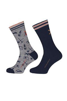 Muchachomalo sokken voor jongens Jeans, blauw