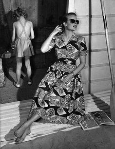1950 Horrockses  Sun Dress