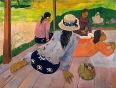 Paul Gauguin The Siesta painting for sale, this painting is available as handmade reproduction. Shop for Paul Gauguin The Siesta painting and frame at a discount of off. Paul Gauguin, Henri Matisse, Henri Rousseau, Painting Prints, Canvas Prints, Art Prints, Sun Painting, Painting Tools, Art Paintings