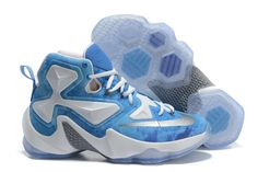033c3fd7c316 2016-2017 Sale Lebron 13 XIII ID Lake Erie Blue Lagoon White New Arrival  2016