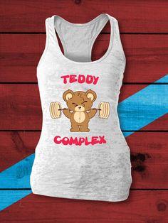 Teddy Complex CrossFit Tank