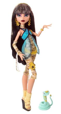 wave 1 Cleo De Nile #monsterhigh