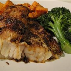 Skillet Cajun Spiced Flounder with Tomatoes Recipe | Fish Recipes ...