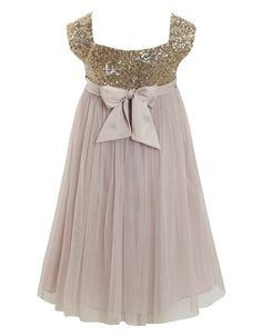 sequin dress...this may be the one for my flower girl