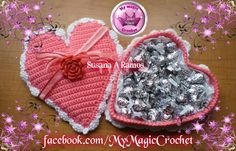Valentine's Crochet Heart https://www.etsy.com/your/shops/MyMagicCrochetUS