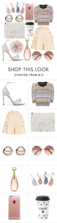 """Pastel Mohair Sweater"" by pulseofthematter ❤ liked on Polyvore featuring Altuzarra, Marc Jacobs, Delpozo, Maison Margiela, Trilogy, Chloé, Christian Dior, ETUÍ, Miss Étoile and Monsoon"