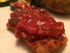 Mango Salsa Chicken | Dish + Drink