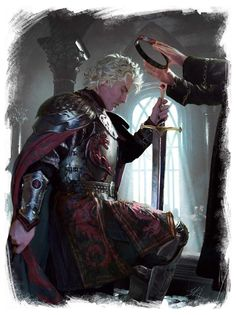 Ritter - Knight - Chevalier - Paladin - Guerrier - Templier -Templar - Templer - Combattant - Warrior - Kämpfer - Fighter - Krieger - Guerrero - Caballero - Cavaliere - Guerriero - 戦士 - 전사 - محارب Aegon Targaryen I Game Of Thrones Artwork, Game Of Thrones Fans, Fantasy Male, Fantasy Warrior, Winter Is Here, Winter Is Coming, Fantasy Inspiration, Character Inspiration, Character Design