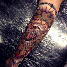 thievinggenius:  Tattoo done byTom Bartley. @tom_bartley