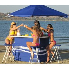 A Portable Outdoor Bar for Parties, Tailgating, the Beach or the Backyard!