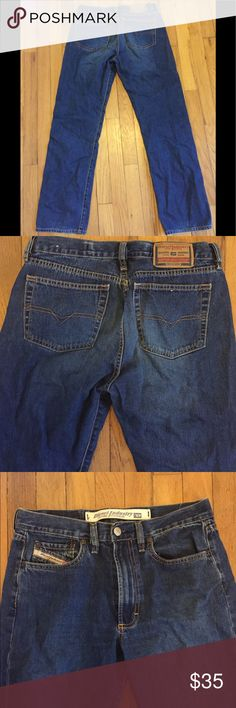 Diesel blue jeans 29 Really cute! Diesel Jeans Straight Leg