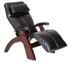 PC 410 Chestnut Wood Human Touch Zero Gravity Perfect Chair Series 2 Recliner | eBay