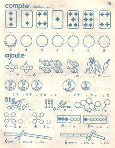 Manuels anciens: R et J Anscombre Le Calcul actif cahier 1