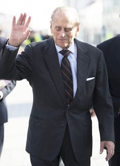 November5, 2016..Prince Philip arriving at the tower in Brighton