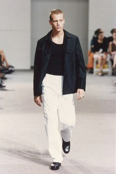 Helmut Lang Spring 1998 Menswear Collection Photos - Vogue