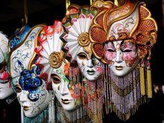 Mascaras do Carnaval de Veneza  Venetian masks