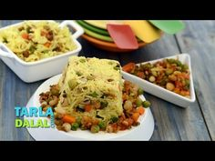 Mixed Sprouts Rice by Tarla Dalal Healthy Cookies, Healthy Dessert Recipes, Brunch Recipes, Gourmet Recipes, Vegan Recipes, Sprouts Vegetable, Vegetable Salad, Pav Bhaji Masala, Food Articles