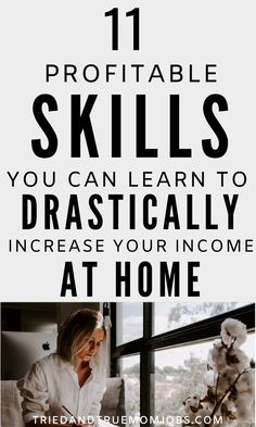 If you want to work from home or make money from home you'll need to learn some skills. The best part is that anyone can do these things you just have to learn them first. Check out the top skills you can learn at home to drastically increase your income. Ways To Earn Money, How To Get Money, Make Money From Home, Quick Money, Money Fast, Extra Money, Online Earning, Earn Money Online, Online Jobs