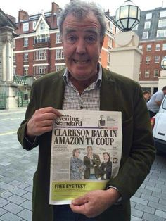 Clarkson, Hammond, and May coming to Amazon!