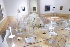 Dinner at the Galleria Nazionale d'Arte Moderna
