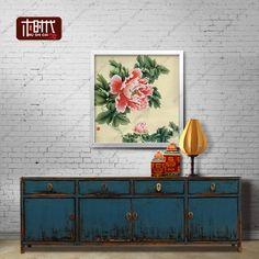 新中式电视柜仿古做旧家具复古矮柜新古典客厅电视机柜极美家具-淘宝网