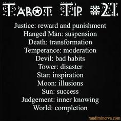 *Tarot Tip*