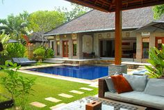 love the open air villas in bali