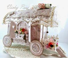 Shabby Chic Wagon