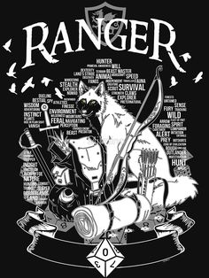 RPG Class Series: Ranger - White Version by Milmino