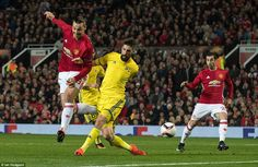 Ibrahimovic was United's biggest threat in the early stages of the game, but Rostov's yellow wall was strong at Old Trafford